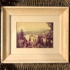Vintage Framed Colorado Mountain Art